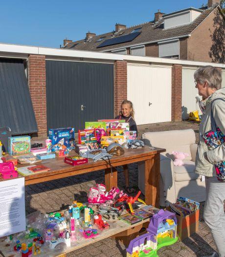Verkopers en klanten ook tijdens coronacrisis blij met Rommelroute