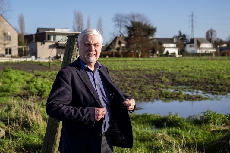 Burgemeester Rob Mennes (CD&V) wil Schelle droog houden.