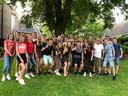 Het team van de Gouden Leeuw in Vessem.