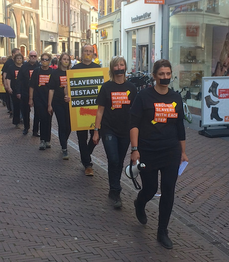 Zutphen protesteert tegen slavernij