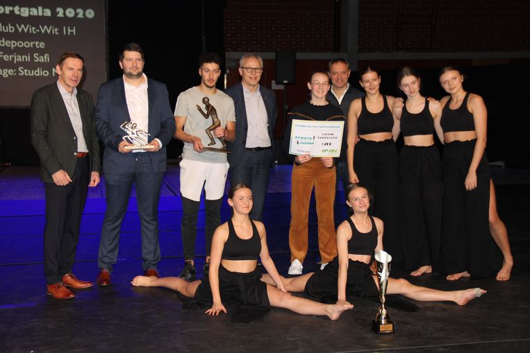 De winnaars van Sports on Stage 2020.