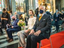 Koningspaar woont wereldpremière van 'Für Van Eyck' bij in Sint-Baafskathedraal