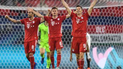 KIJK LIVE. Bayern wint Europese Supercup na felbevochten strijd met Sevilla, Duitsers klaren klus pas in verlengingen