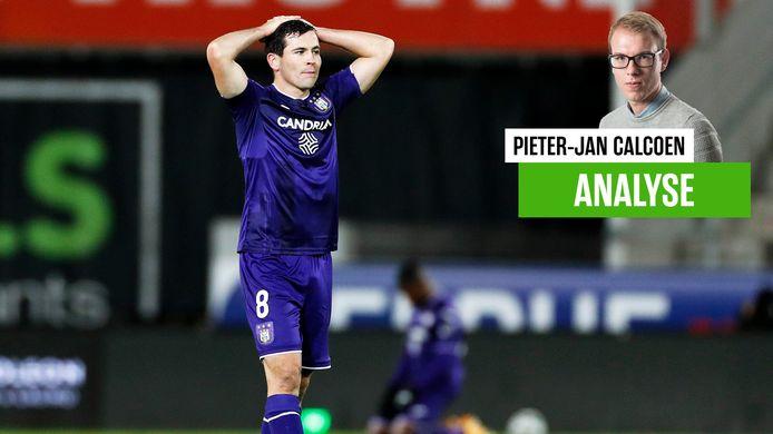 Ook Josh Cullen kon Anderlecht geen drie punten bezorgen.