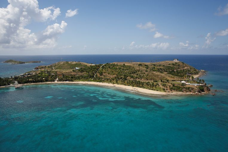 Little St. James Island, dat eigendom was van Jeffrey Epstein.