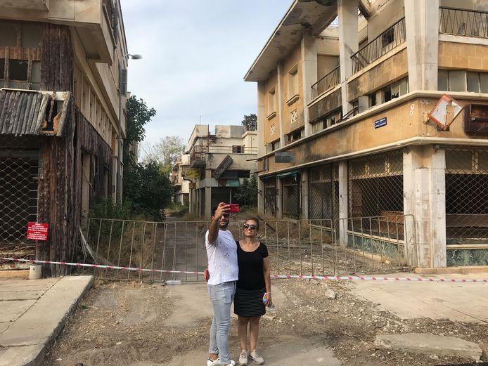 Spookstad Varosha op Cyprus