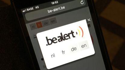 BE-Alert verstuurt 40.785 sms'en in Zandhoven en Ranst