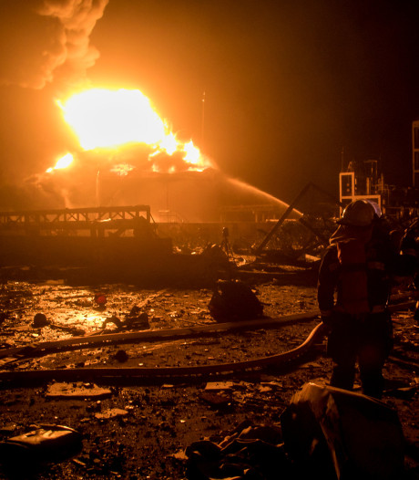 Dodental explosie chemische fabriek China stijgt naar 64