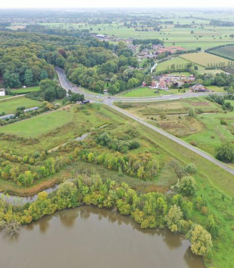 Hoornwerk is naast Grebbedijk nieuwe troef tegen wassende water van de Rijn in Rhenen