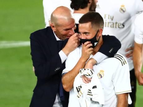 """Eden Hazard de retour dans la sélection du Real: """"Il va bien"""""""