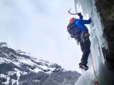 Arnhemmer Frank de Haan (25) klimt tegen ijsrotsen op WK