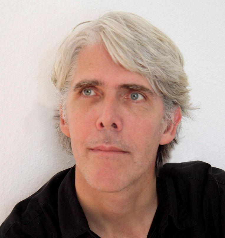 Thomas van Slobbe is auteur van Handvest Antropoceen of de liefde van Toby Zonderveld. Beeld
