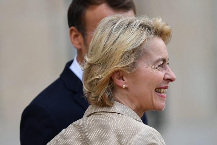 Ursula von der Leyen présidente de la Commission européenne.