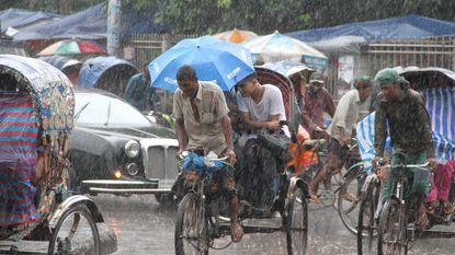 """Dhaka zal volledig onder water lopen"""