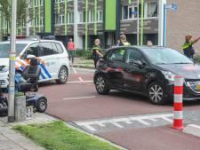 Bestuurder scootmobiel gewond bij botsing met auto in Kampen