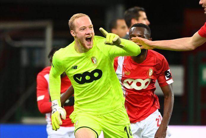 Arnaud Bodart redde een punt voor Standard.