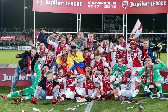 Image result for jong ajax eerste divisie champions