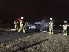 Nieuw ongeluk op A18, uren na een botsing op bijna dezelfde plek