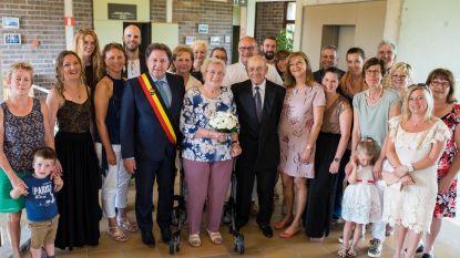 Briljanten huwelijk voor Raymond en Rosa