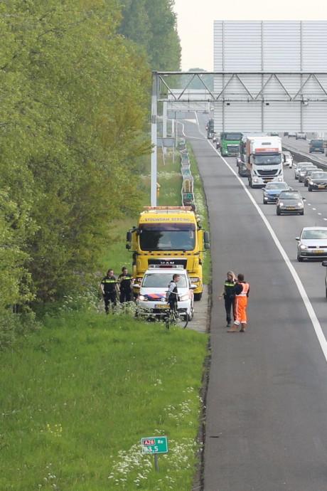 Steeds vaker belanden fietsers en wandelaars op de snelweg, A28 is regionaal koploper met 202 gevallen