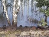 Brandweer rukt groot uit voor brand Liessel
