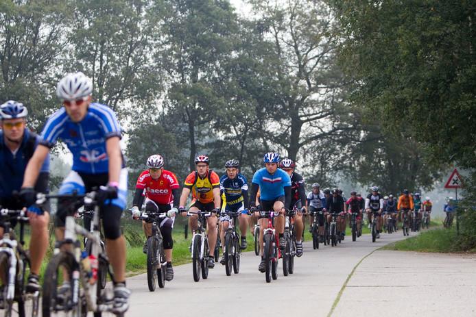 Archieffoto van de Grenslandmarathon.
