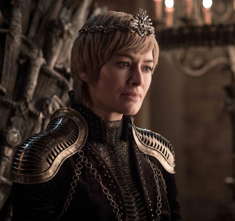 Cersei Lannister, vertolkt door Lena Headey.