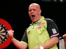 Oppermachtige Van Gerwen verslaat Van Barneveld in finale New Zealand Darts Masters