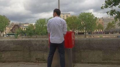 Eco-urinoirs in Parijs veroorzaken opschudding bij lokale bevolking