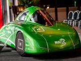 Het is groen en het rijdt ongeveer 1 op 1000