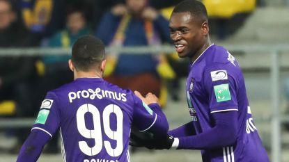 VIDEO. Anderlecht, mét Trebel en in 4-3-3, wint al bij al vlot op Beveren