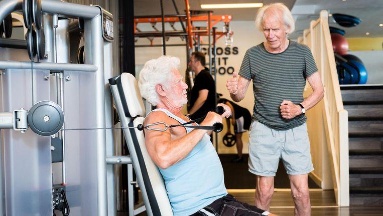 Ouderenfitness helpt tegen eenzaamheid en is goed voor het welbevinden. Beeld Roos Koole/ANP