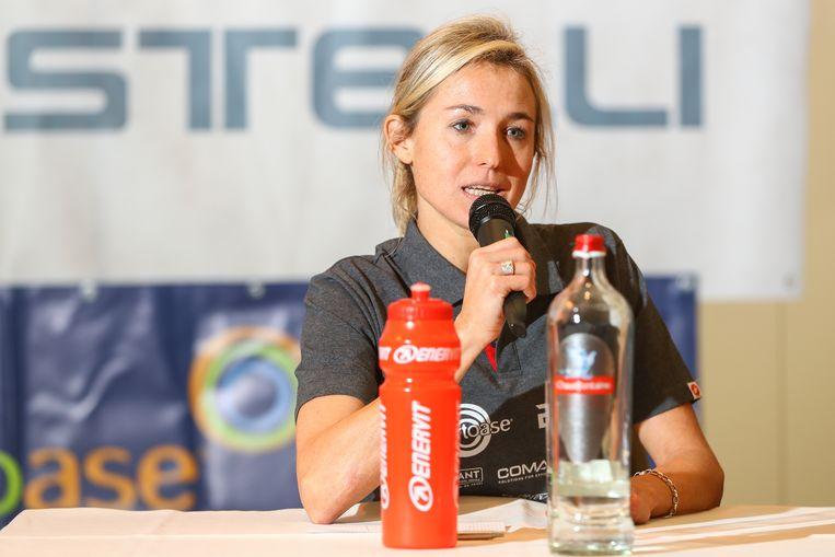 Sofie Goos is meter van Linker Oevert Marathon.