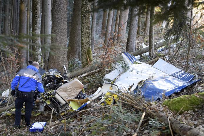 Deux personnes ont perdu la vie dans le crash d'un avion similaire en Suisse, le 22 janvier dernier