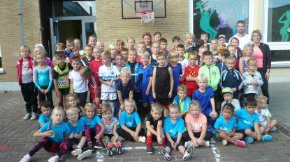 Leerlingen Het Spoor sportief naar school