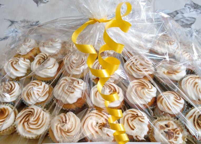 De cupcakes van N-VA Hemiksem.