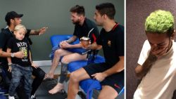 Terwijl Neymar zijn ex-ploegmaats opzoekt in Barcelona, doen geruchten de ronde dat hij niet gelukkig is in Parijs en spijt heeft van transfer