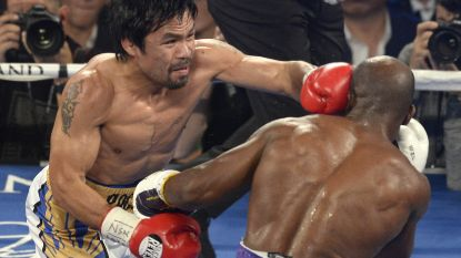 Manny Pacquiao stapt terug in de boksring