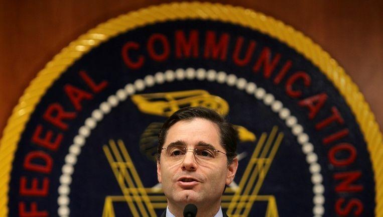 Voorzitter Julius Genachowskivan de FCC. Beeld afp