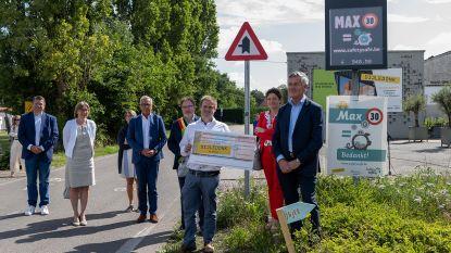 """Chauffeurs Oude Keerbergsebaan rijden 947 euro bij elkaar door snelheid te respecteren: """"Geld wordt verder geïnvesteerd in verkeersveiligheid"""""""