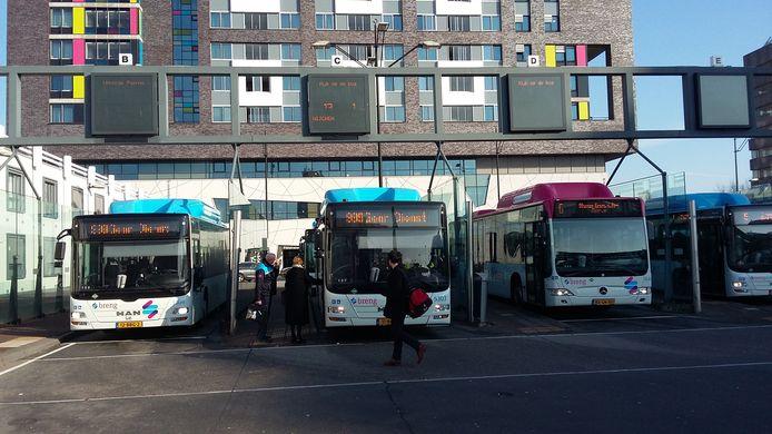 Het busstation van Nijmegen.