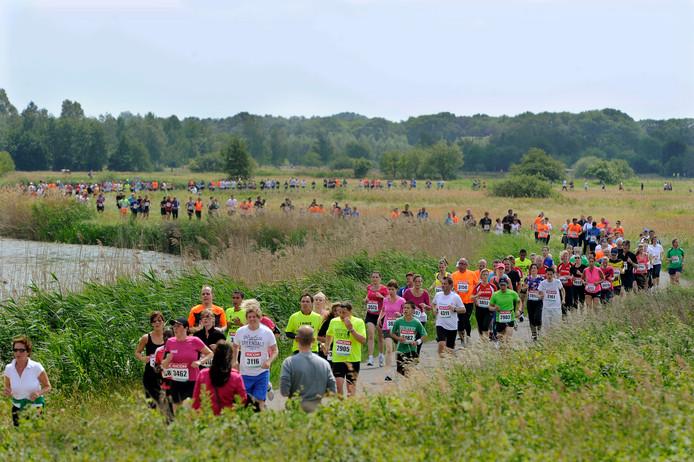 Ook dit jaar leidt het parcours van de BrandLoyalty Vestingloop door het Bossche Broek.
