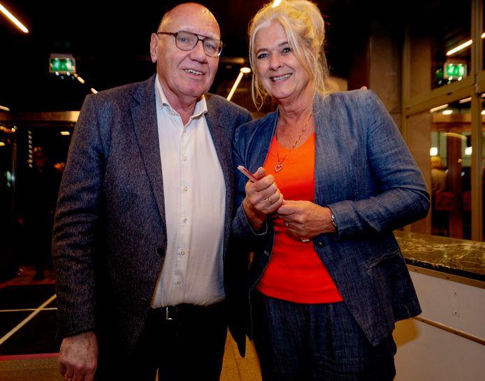 Kees Jansma en Alies van Hanegem.