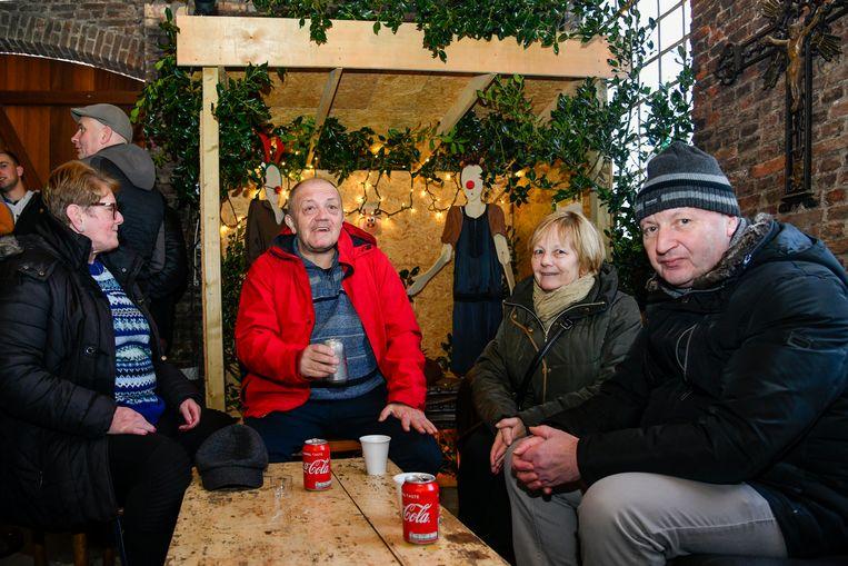20191229 Baasrode Foto Geert De Rycke Kerststallentocht   13u - 15u : Kerststallentocht in Baasrode.