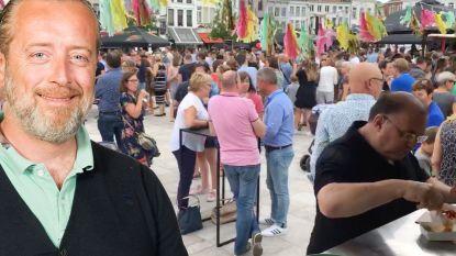 """""""Maak van de Markt en andere openbare pleinen in Oudenaarde één groot openluchtcafé"""""""