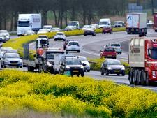 Nederlandse wegen uitzonderlijk druk