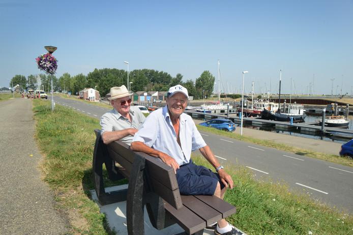 Joop van der Maas en Maarten Duinhouwer
