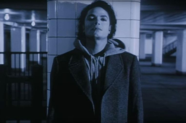 Michael Jackson in Bad. Beeld