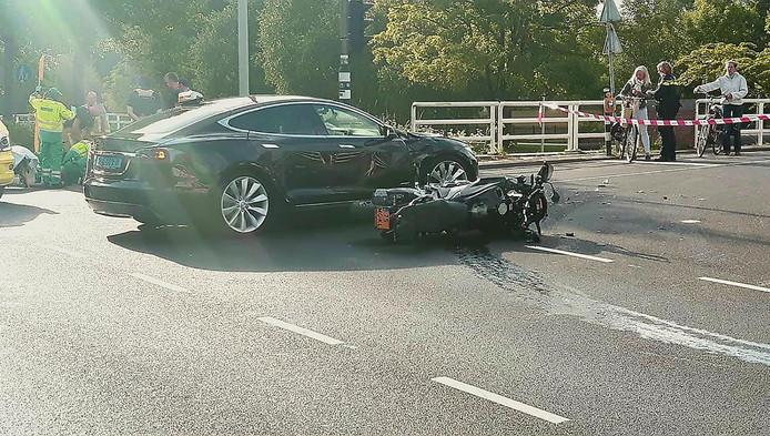 Het ongeluk op de Haarlemmerweg
