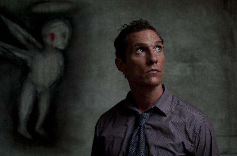 Matthew McConaughey in 'True Detective'.